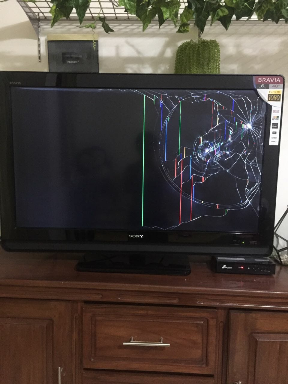 Biaya Ganti Layar TV LED Pecah