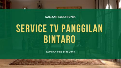 service TV Panggilan Bintaro