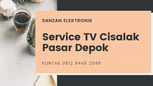 Service TV Cisalak Pasar Depok
