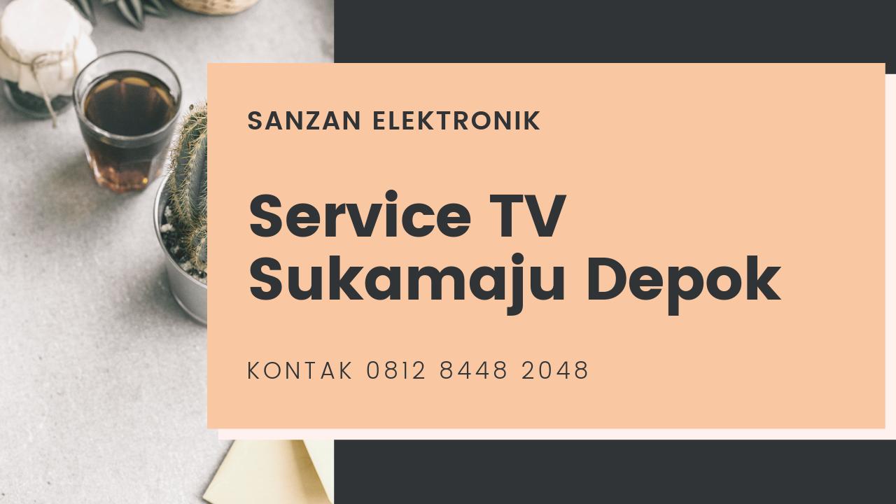 Service TV Sukamaju Depok