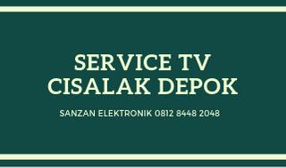 Service TV Cisalak Depok