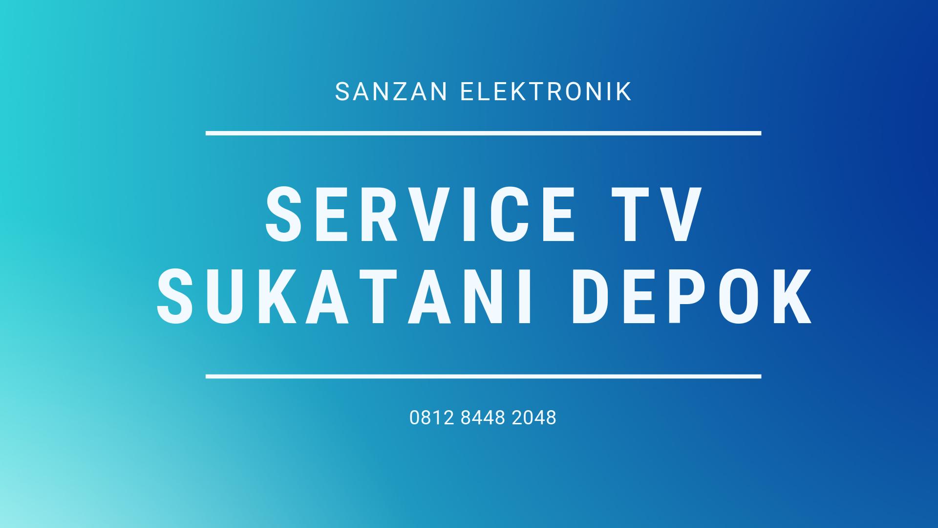 Service TV Sukatani Depok