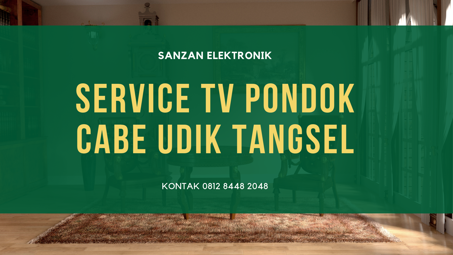 Service TV Pondok Cabe Udik Tangsel