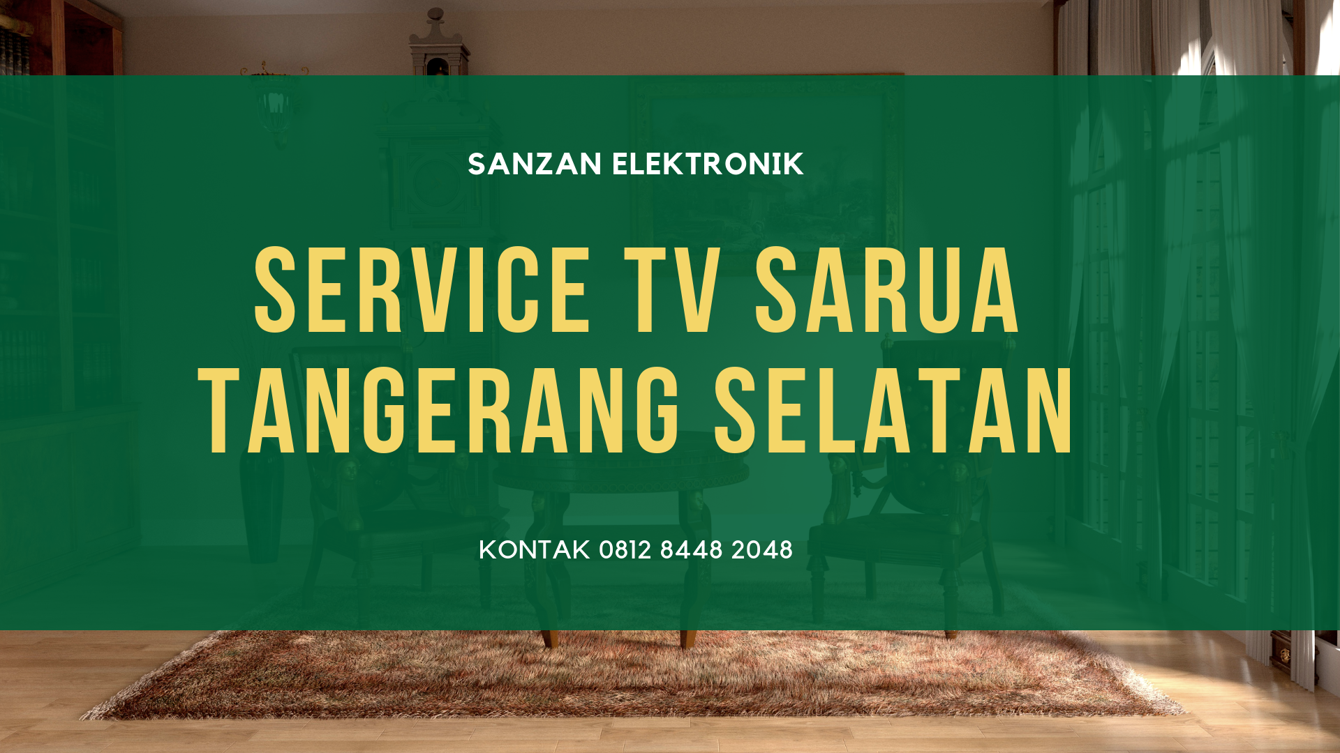 Service TV Sarua Tangerang Selatan