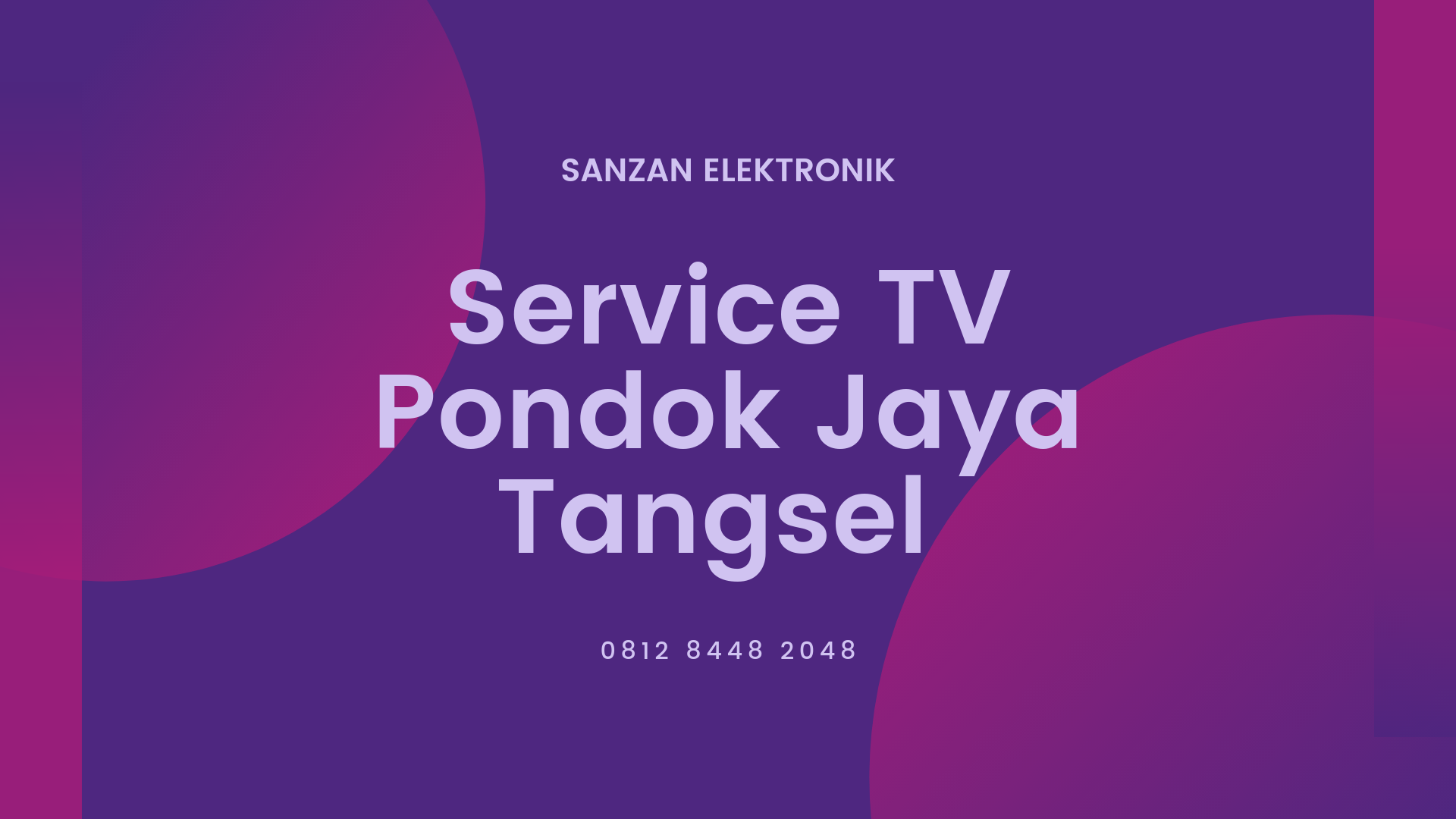 Service TV Pondok Jaya Tangsel