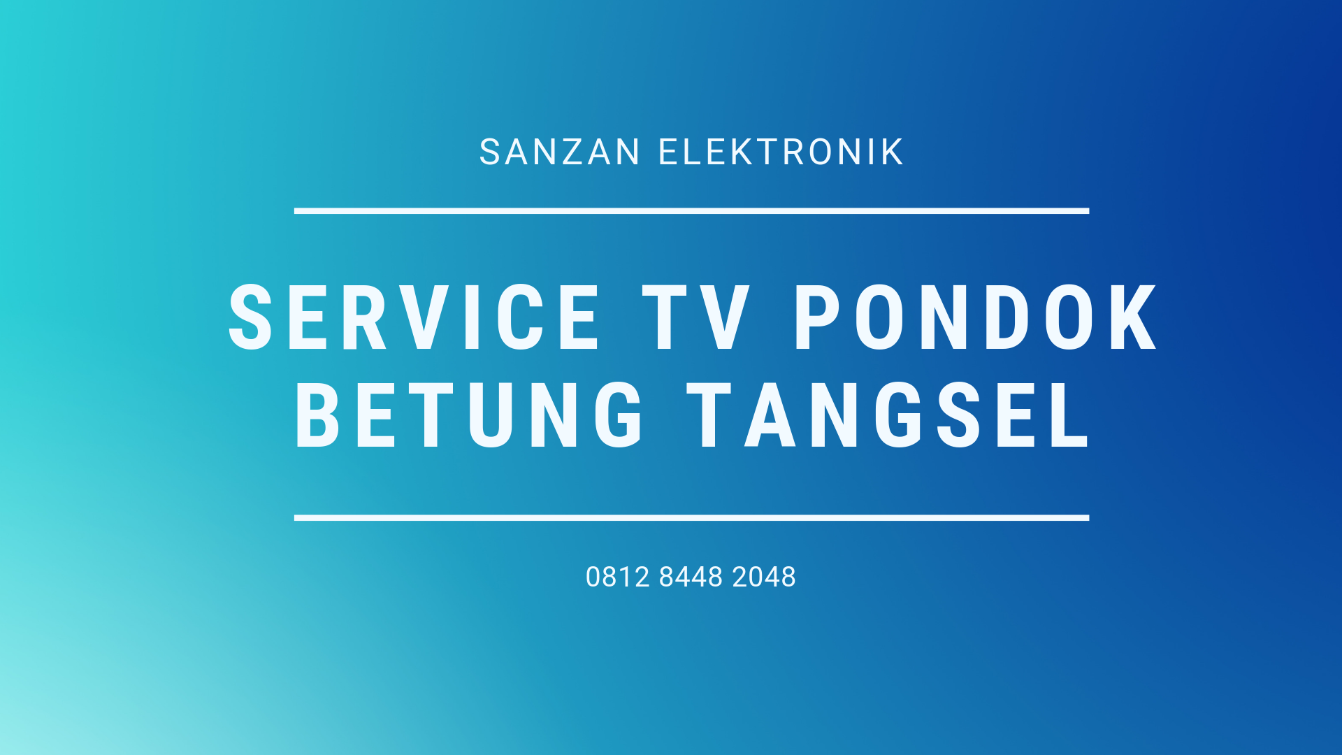 Service Tv Pondok Betung Tangsel