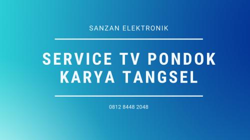 Service TV Pondok Karya Tangsel