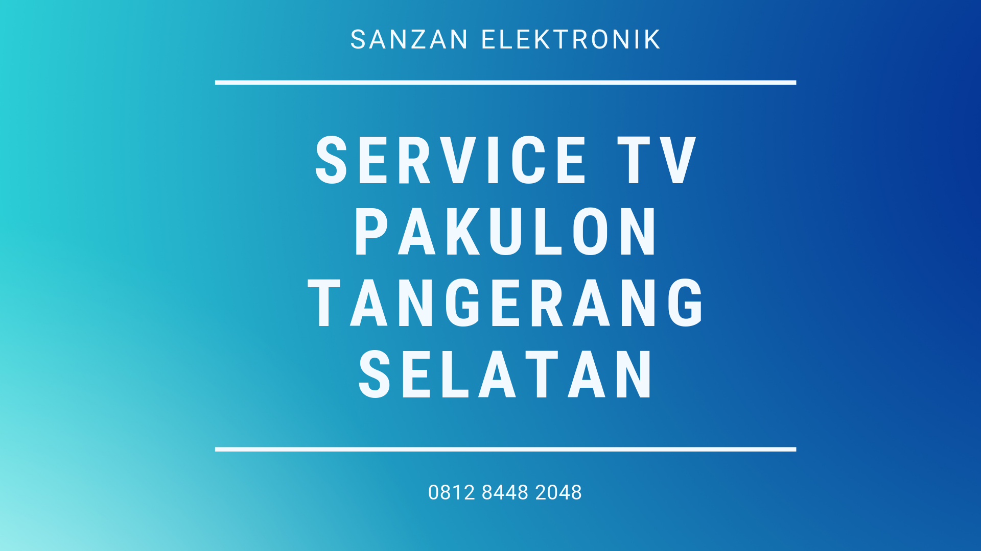 Service TV Pakulon Tanggerang Selatan