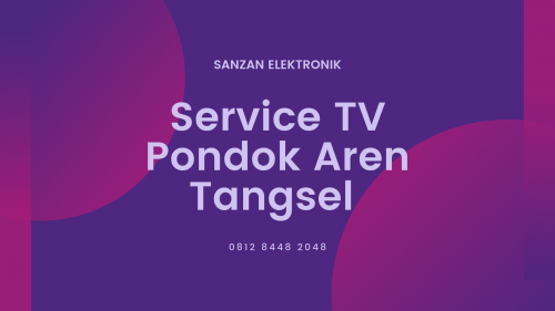 Service TV Pondok Aren Tangsel