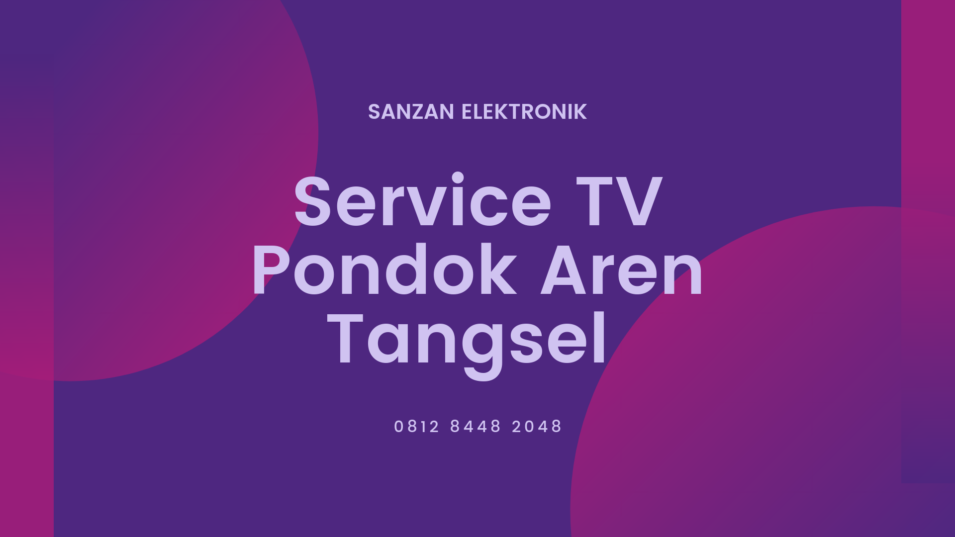 Service TV Pondok Aren Tangsel